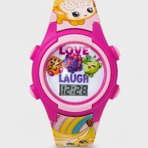 Shopkins Girls Love Laugh Flashing LCD Watch